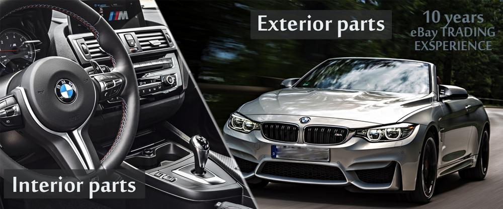 BMW M2 M3 M4 F20 F30 F80 Steering Wheel Heater Button Chrome 61319384363 Genuine